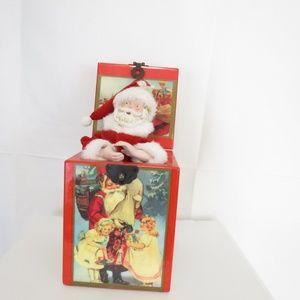 LVC Music Box 1987 Santa Claus Jingle Bells